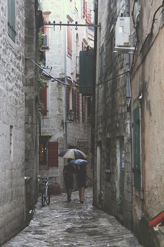 uliczka kotor