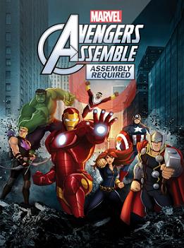 Marvels Avengers Assemble (2013) DVDRip XviD AQOS