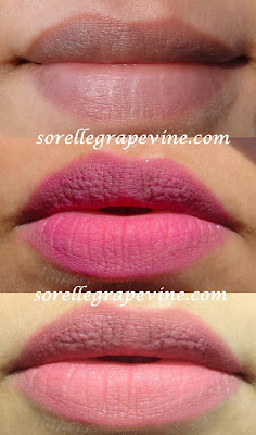 NYX Soft Matte Lip Cream Addis Abada swatch