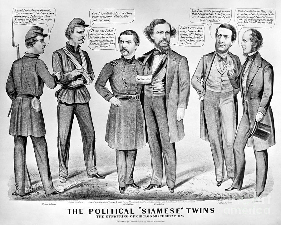 Election Of Lincoln 1864