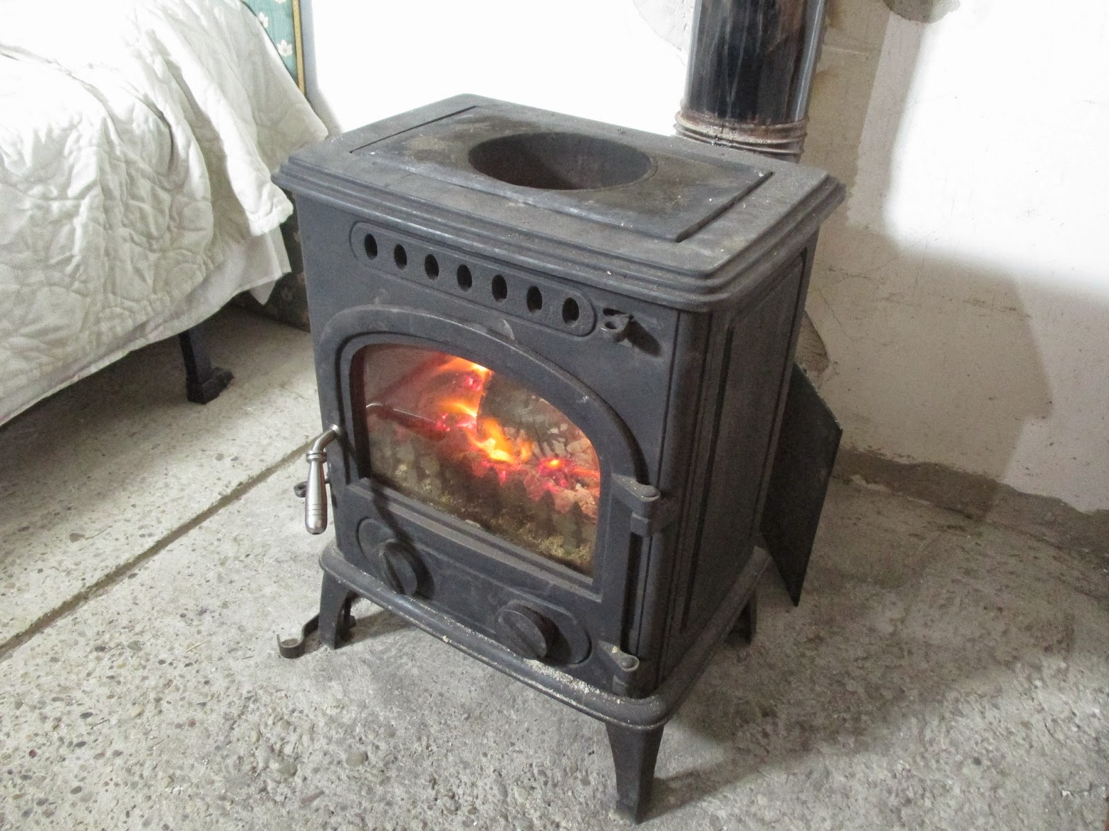 Calor por un tubo estufas de le a - Lena para estufas ...