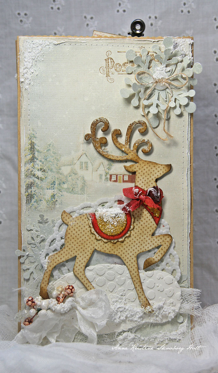 Crafting ideas from sizzix uk gift bag for christmas