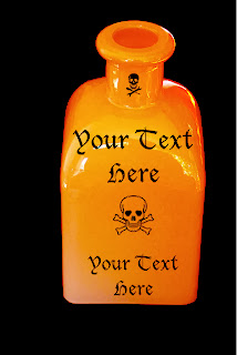 bottle of poison cover