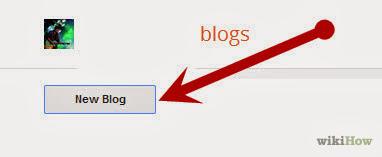 Klik New Blog