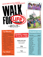 CPC's Walk for Life 2013 Results - www.cpcfriends.org/results
