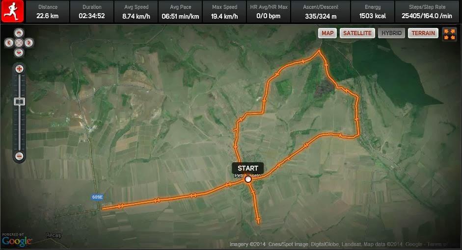 Petrovaselo - Cralovat - Recas. Harta
