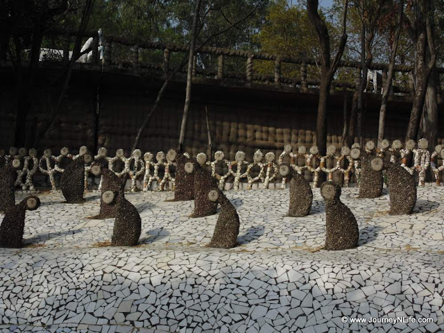 Nek Chand's Rock Garden in Chandigarh