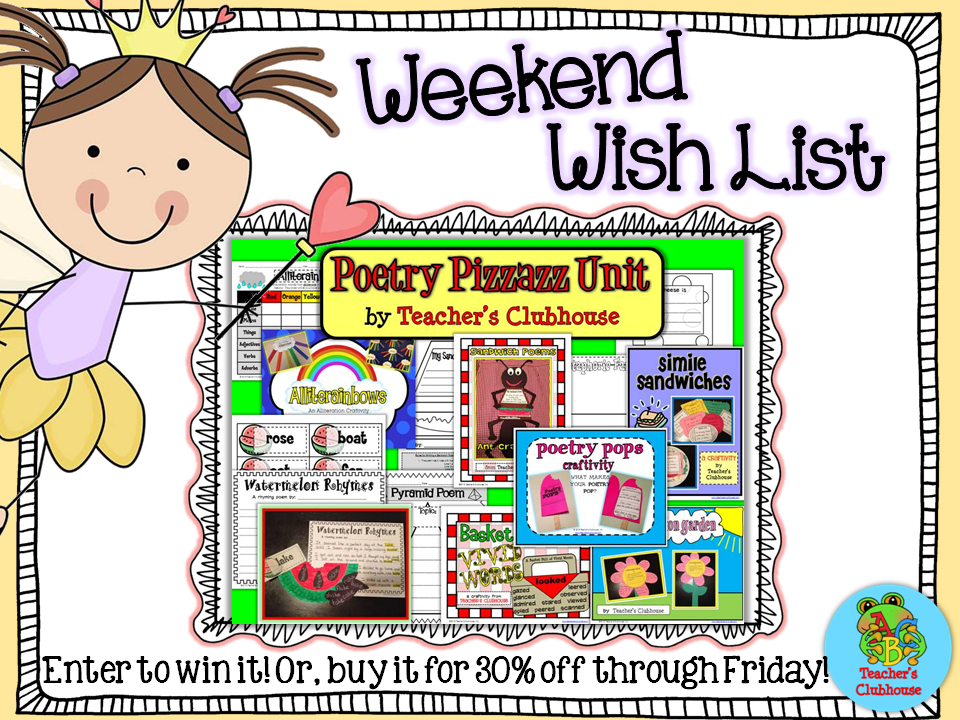 http://www.teacherspayteachers.com/Product/Poetry-Pizzazz-Unit-673762