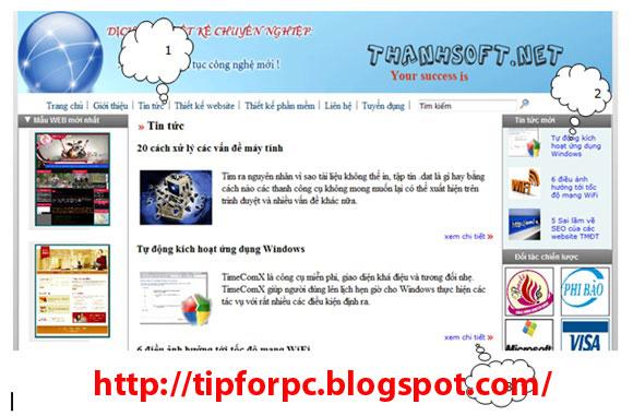 Đồ án tốt nghiệp Mã nguồn code Website giới thiệu công ty phần mềm ThanhSoft bằng Asp.Net + báo cáo