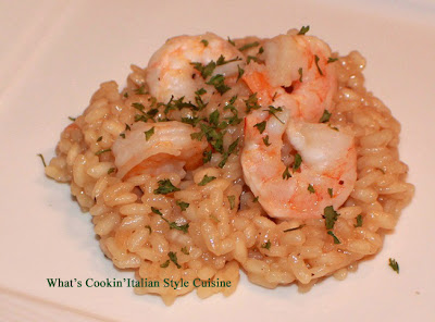 Mom's Risotto Shrimp Scampi Recipe