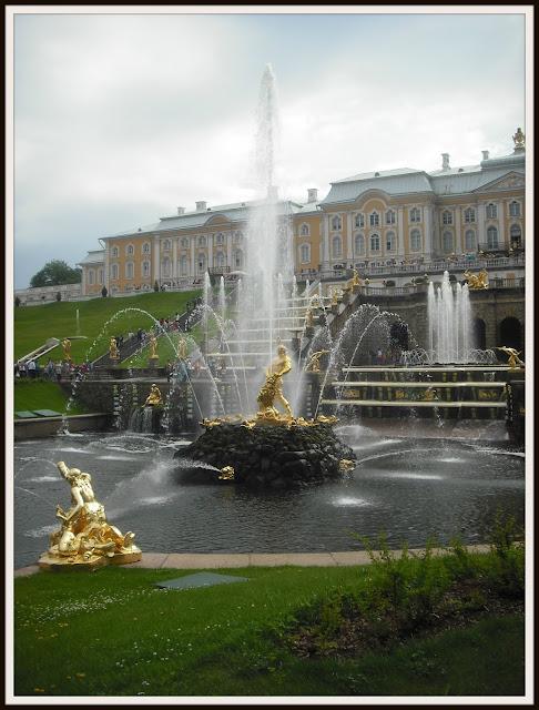 Петергоф Petergof fontanai