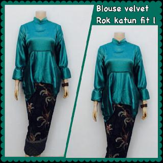 baju busana batik muslim