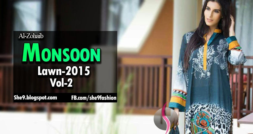Monsoon Lawn Fashion 2015