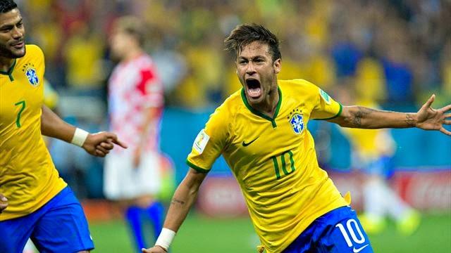 نيمار يقود البرازيل لحصد اول 3 نقاط بالمونديال