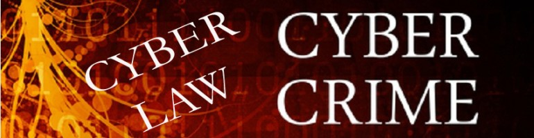 CYBER CRIME & CYBER LAW
