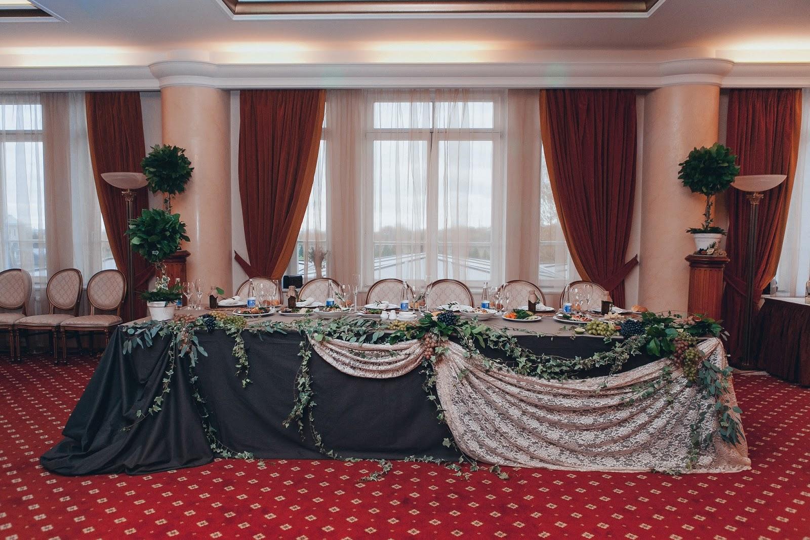 президиум итальянской свадьбы