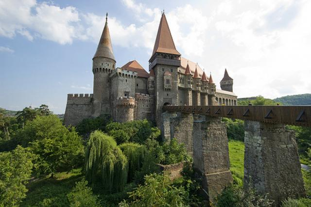 Hunedoara Castle, also called Corvin Castle