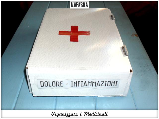 Bagno: organizzare le medicine