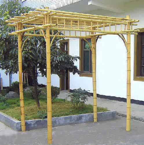 Bamboo Grove Photo Bamboo Gazebo