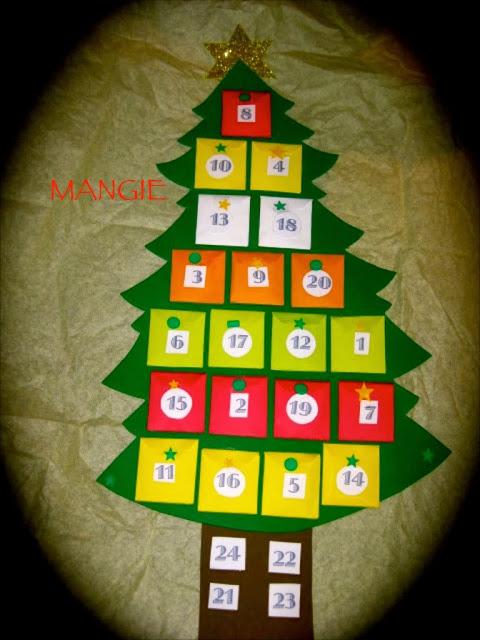 Calendario adviento niños