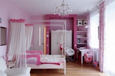 foto dormitorio rosa