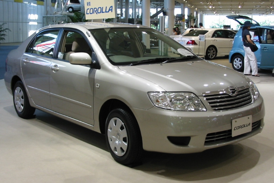 As Gera    es da Toyota  gera    es do corolla