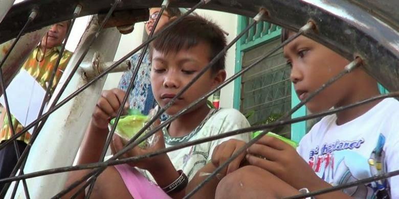 NEKAT ! Dua Bocah Pemalang Ini Kelaparan Setelah  Bersepeda Ke Jakarta Cari Ibunya