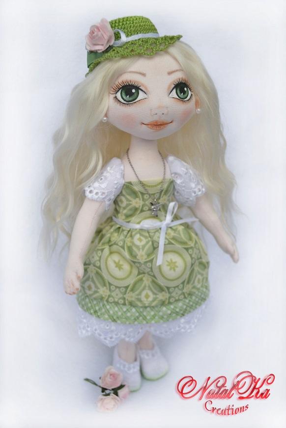 Cloth art doll. Авторская тряпичная кукла