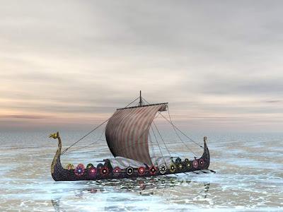 Viking Bernavigasi Menggunakan Kristal