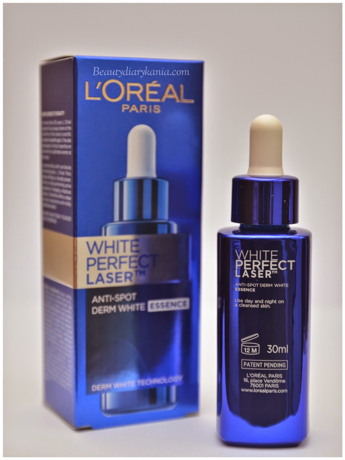 White Perfect Laser Essence The First Product Of Black Stain By