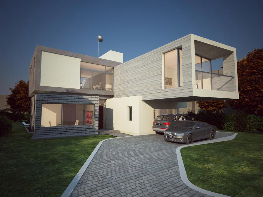 exterior casa render ultimate renders
