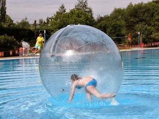 sewa water walking ball jakarta