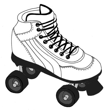 Luloveshandmade: I lov... Roller Derby Skate Drawing