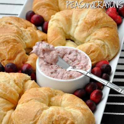 Cranberry Cream Cheese Spread... put this on EVERYTHING!