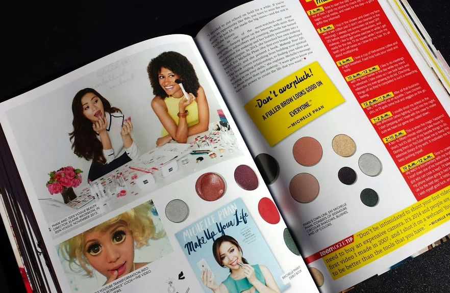 michelle phan, elaine, beauty editor, teen vogue, handbook, second edition, digital, insider's guide to the fashion industry