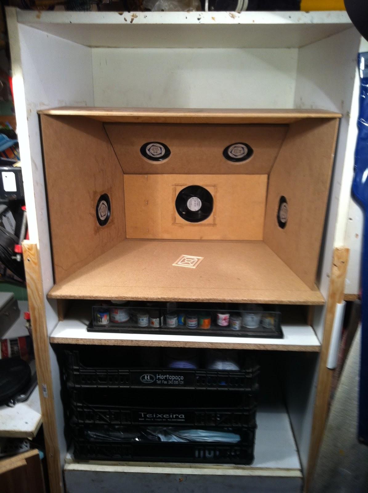 Ttriganices cabine de pintura do triganices - Estufa para habitacion pequena ...