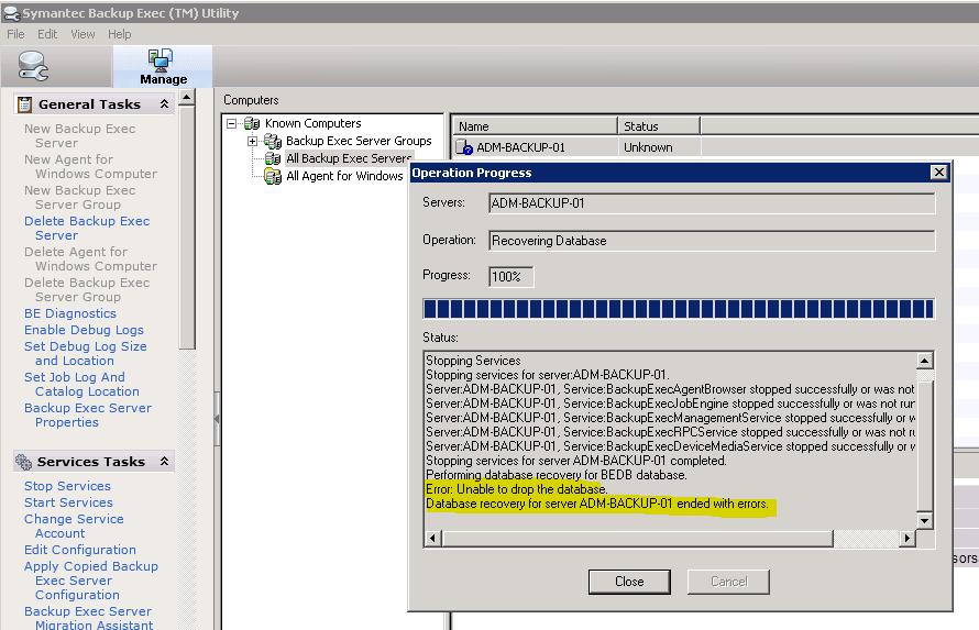 Backup Exec 12.5