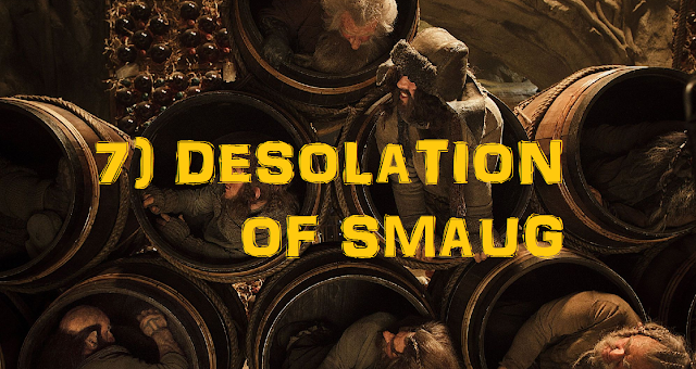 Barrel hiding scene in Desolation of Smaug dwarves