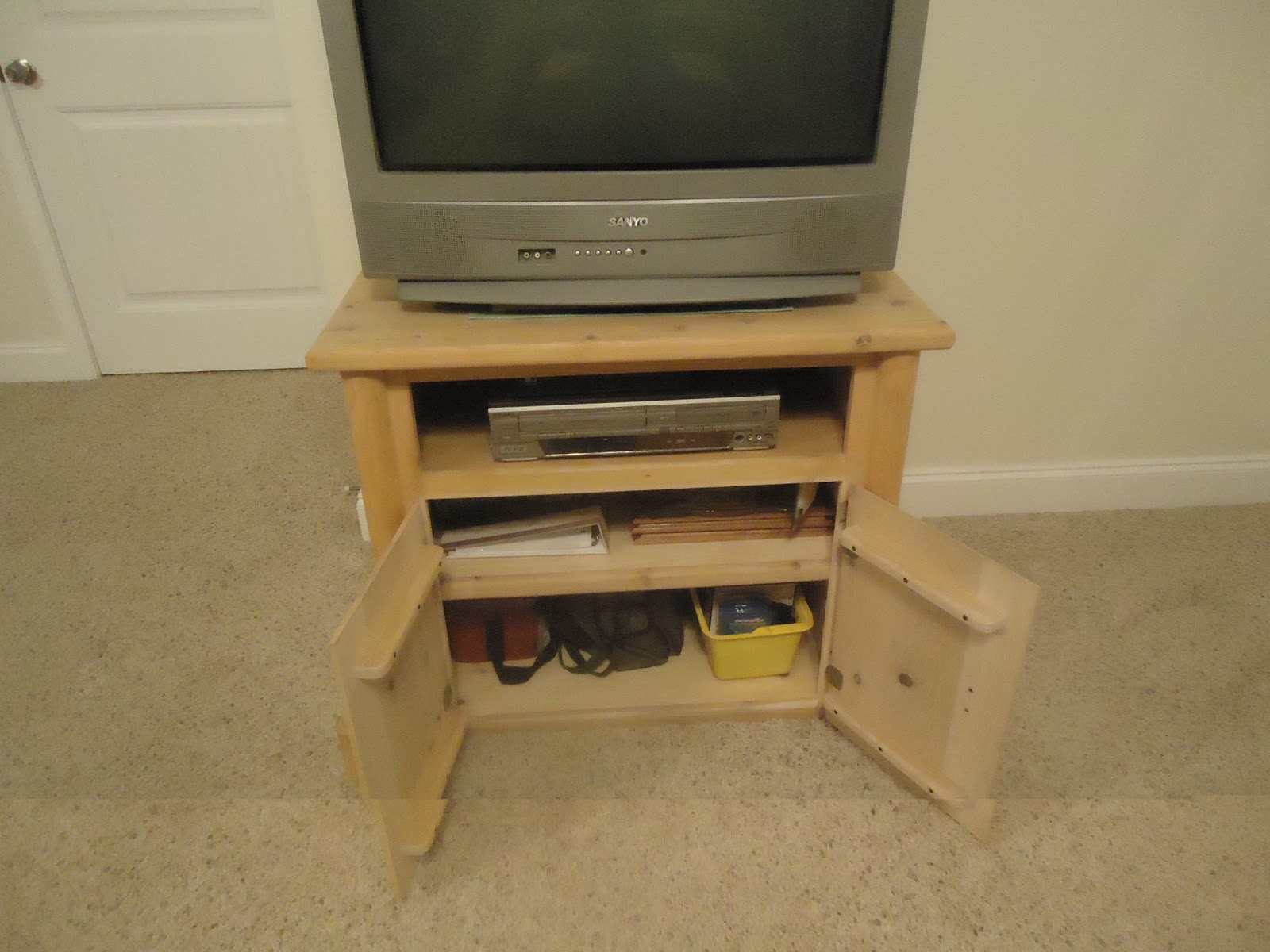 make your own tv stand plans