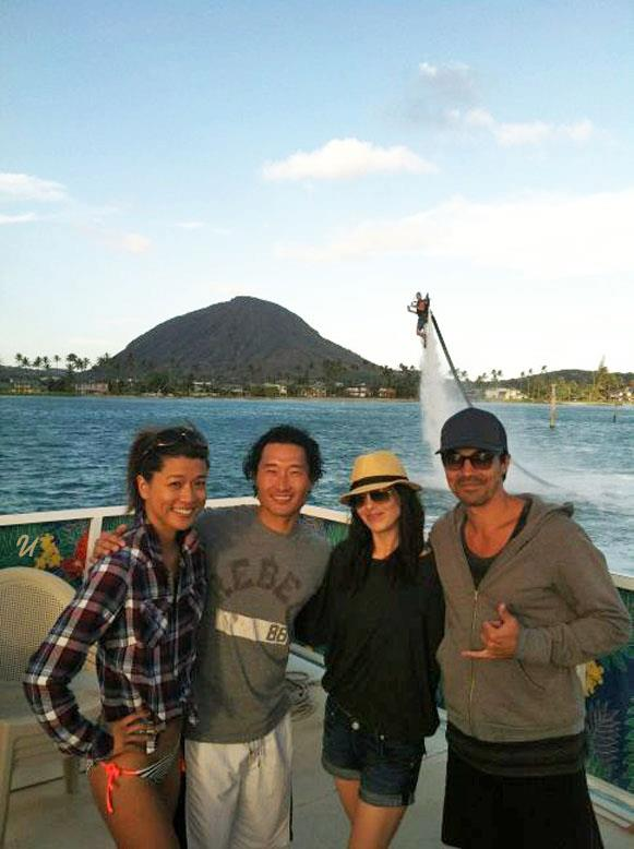 Ian Anthony Dale, Michelle Borth, Daniel Dae Kim and Grace Park