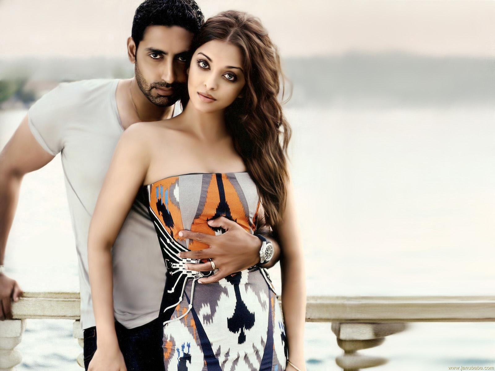 Aishwarya Rai and Abhishek Bachchan Vogue