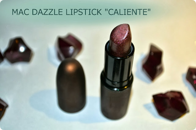 Meine Top 3 LE-Produkte - MAC Dazzle Lipstick CALIENTE