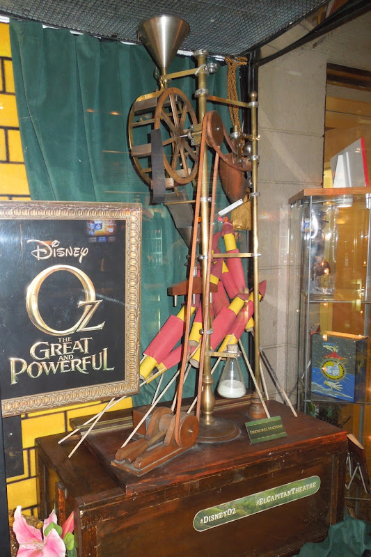 Oz Great Powerful fireworks machine prop
