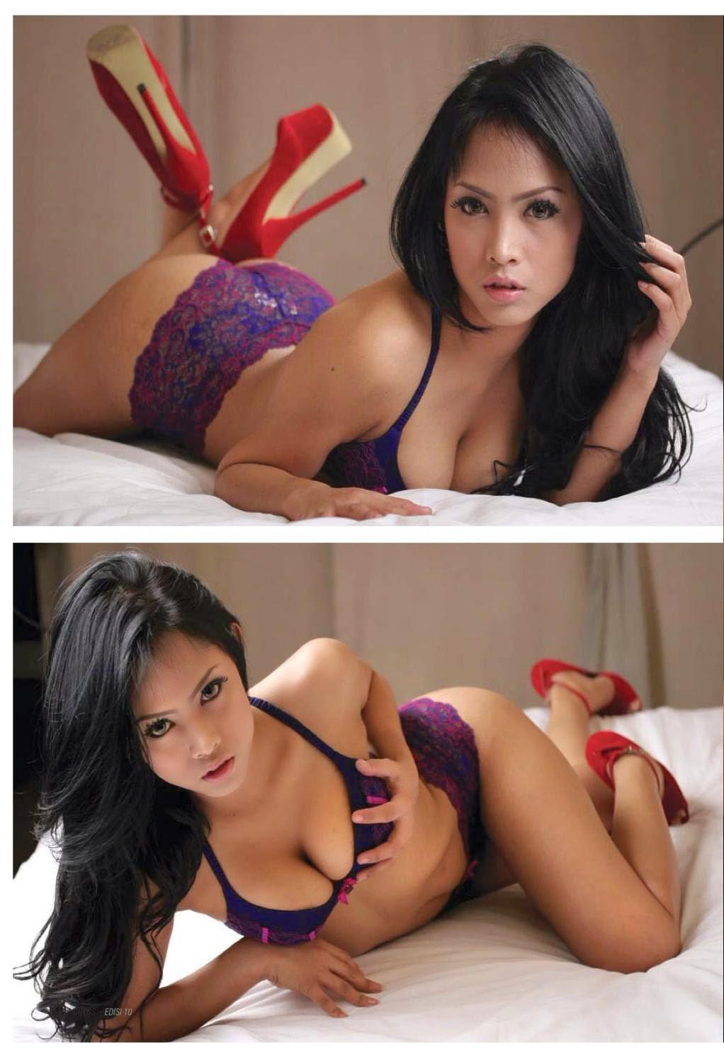 foto ngentot memek  bugil mesum Foto Seksi Imey Model Sexy Majalah Gress