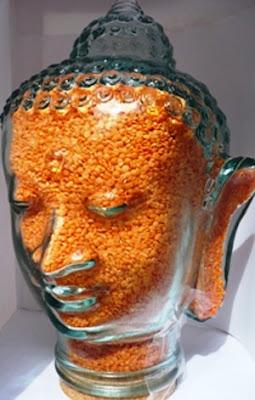 Un bocal tête de Bouddha