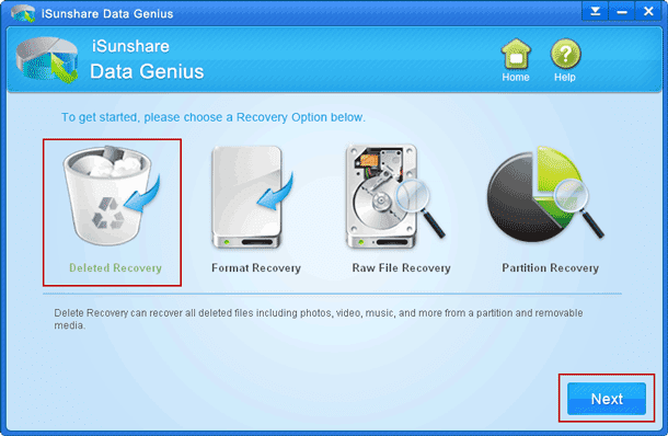 choose windows 8 file recovery mode