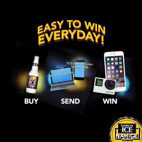 Tanduay Ice Nahice Promo, win, Philippines promo