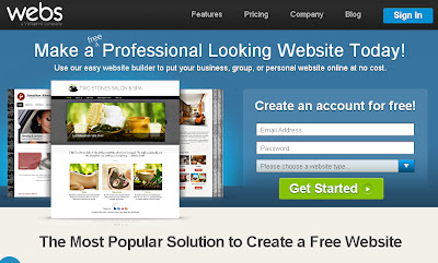 Webs ScreenShot
