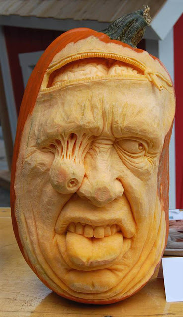 (Ray Villafane) AMAZING Pumpkin Carvings for Halloween-Works of Art