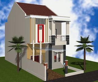 GAMBAR RUMAH TINGKAT MINIMALIS 2 LANTAI Foto Rumah Minimalis Desain Sederhana